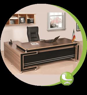 میز و صندلی مدیریت لیدوما
