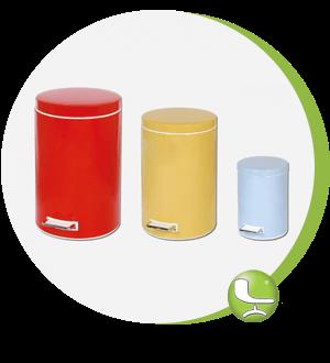انواع سطل زباله لیدوما