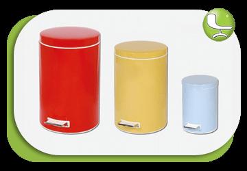 سطل زباله در ابعاد مختلف - لیدوما