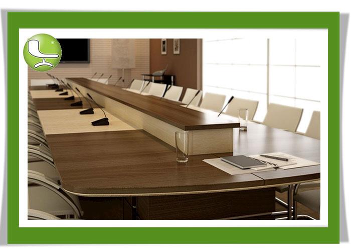 انواع میز کنفرانس - لیدوما