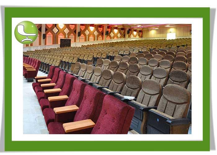 چیدمان صندلی آمفی تئاتر لیدوما