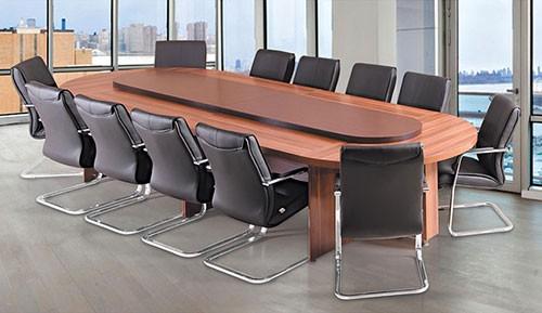 میز کنفرانس بیضی شکل
