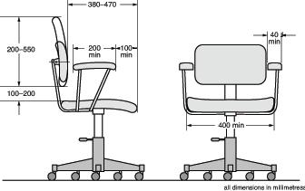 طراحی دسته های صندلی اداری