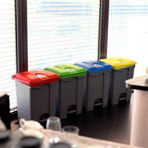 رنگ سطل زباله