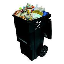 سطل زباله با علامت مخصوص